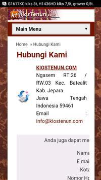 Kios Tenun apk screenshot