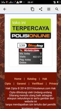Kios Tenun screenshot 6