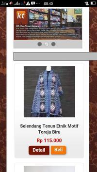 Kios Tenun screenshot 3
