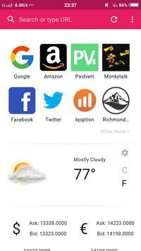 Kobat Browser apk screenshot