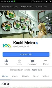 Metro Kochi apk screenshot