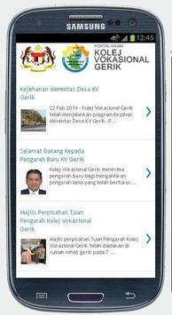 Kolej Vokasional Gerik Mobile apk screenshot