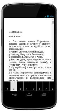 Книга Иисуса Навина apk screenshot