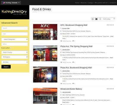 Kuching Directory screenshot 3