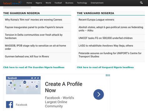 Nigeria News  Updates screenshot 1