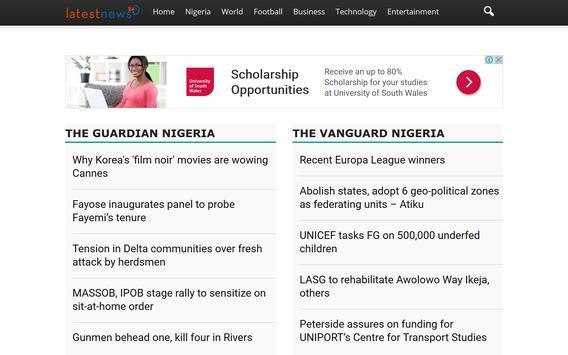 Nigeria News  Updates screenshot 2