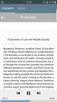 LSE Public Events Podcasts apk screenshot