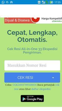 Lacak Resi JNE POS Wahana. poster
