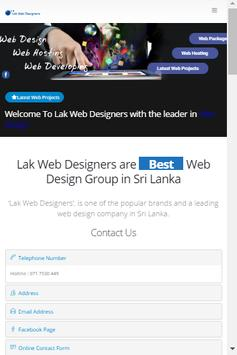 Lak Web Designers apk screenshot