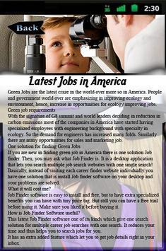 Latest Jobs in America apk screenshot