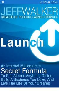 launch: An Internet Millionaire's Secret Formula poster