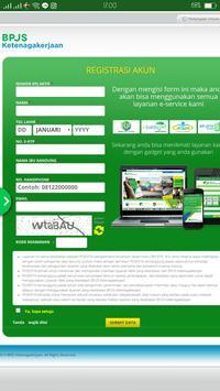 Layanan Saldo Dan Klaim BPJS Ketenagakerjaan screenshot 1