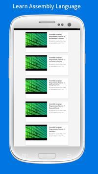 Learn Assembly Language Easily apk screenshot