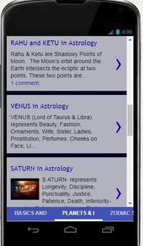 Learn Astrology Online screenshot 5