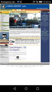 Lisbon Airport Departures apk screenshot