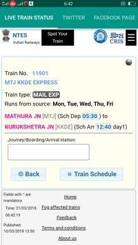 Live Train Status apk screenshot