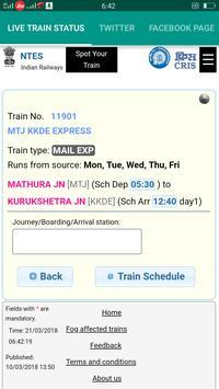 Live Train Status screenshot 1