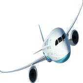 Live flight radar tracker icon