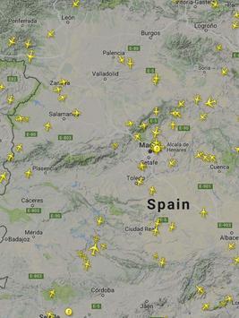 Live flight radar tracker screenshot 1