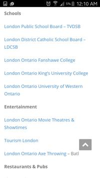 London Ontario Services apk screenshot