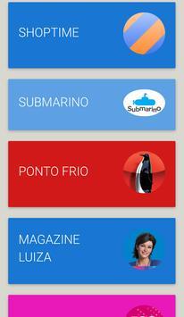 Lojas Brasileiras links apk screenshot