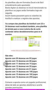 Lotofácil Dezenas screenshot 3