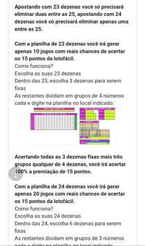 Lotofácil Dezenas screenshot 1