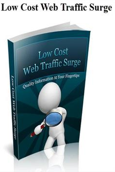 Low Cost Traffic Surge poster