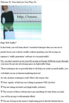 Low Cost Traffic Surge apk screenshot
