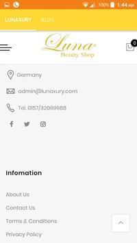 Luna beauty shop screenshot 4