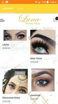 Luna beauty shop screenshot 5