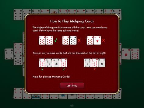 Mahjon game screenshot 2