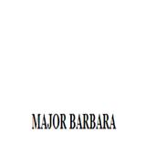 MAJOR BARBARA icon