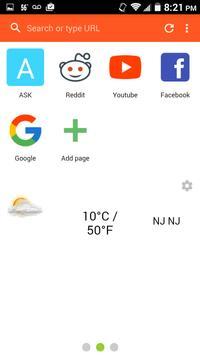 Majstro Super Fast Browser apk screenshot