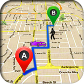 MAP GPS icon