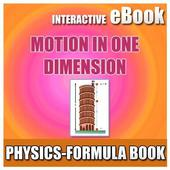 MOTION IN ONE DIMENSIONS icon