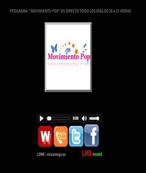MOVIMIENTO POP apk screenshot