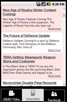 MMORPG News and Video Guides screenshot 3