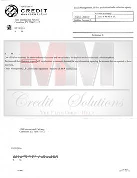 M&M Credit Solutions poster