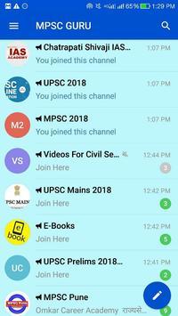 MPSC UPSC Study Material poster