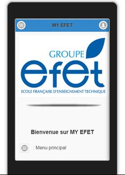My EFET poster