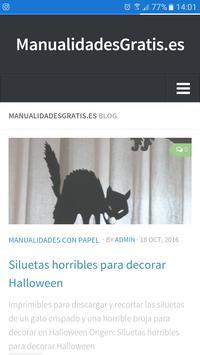 ManualidadesGratis poster
