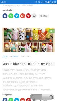 ManualidadesGratis screenshot 1