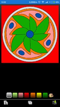 Mandala coloring screenshot 3