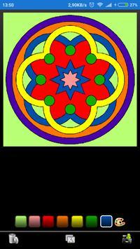 Mandala coloring screenshot 1