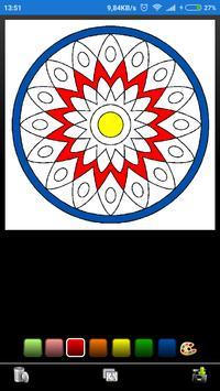 Mandala coloring screenshot 2