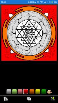 Mandala coloring screenshot 4