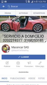 Macencar Detailing screenshot 2