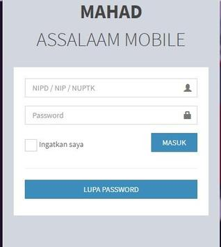 Mahad Assalaam Mobile poster