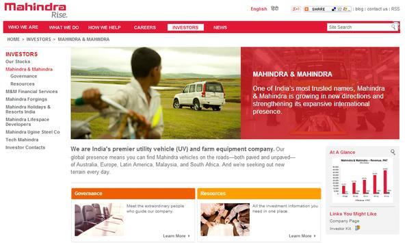 Mahindra.com apk screenshot